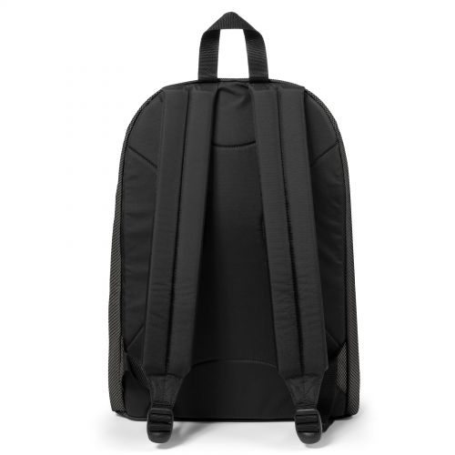 Out Of Office Meshknit Grey Backpacks by Eastpak