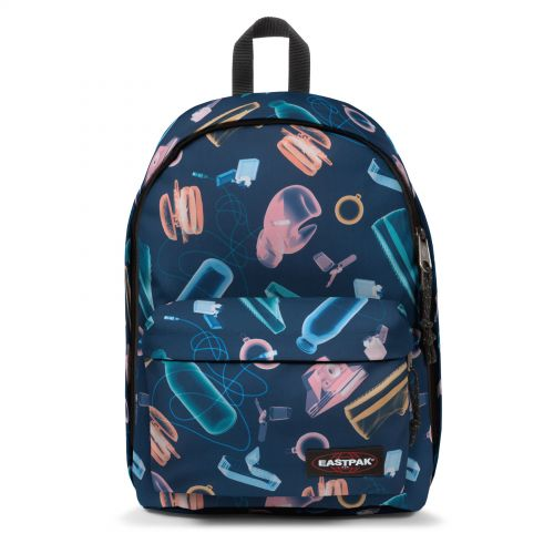 Out Of Office Xray Blue Backpacks by Eastpak