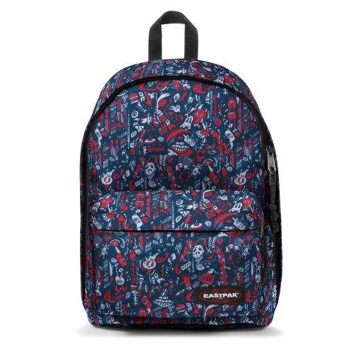 Out Of Office Scribble Red Default Category by Eastpak