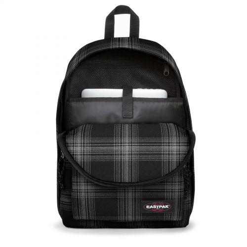 Out Of Office Checked Dark Backpacks by Eastpak
