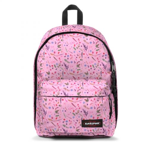 Out Of Office Herbs Pink Backpacks by Eastpak