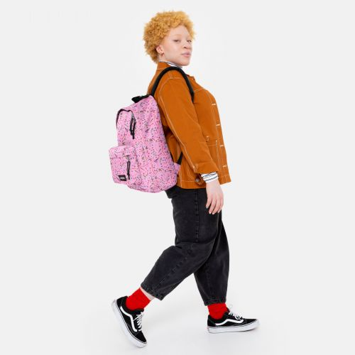Out Of Office Herbs Pink Backpacks by Eastpak - view 15