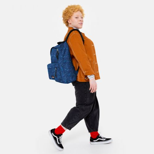 Out Of Office Herbs Navy Backpacks by Eastpak - view 15