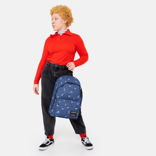 Out Of Office Peanuts Snoopy Backpacks by Eastpak