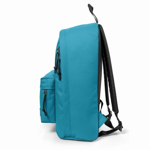 Out Of Office Soothing Blue Backpacks by Eastpak