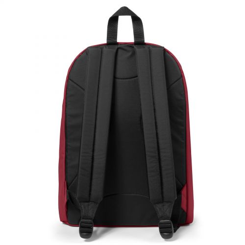 Out Of Office Deep Burgundy Backpacks by Eastpak