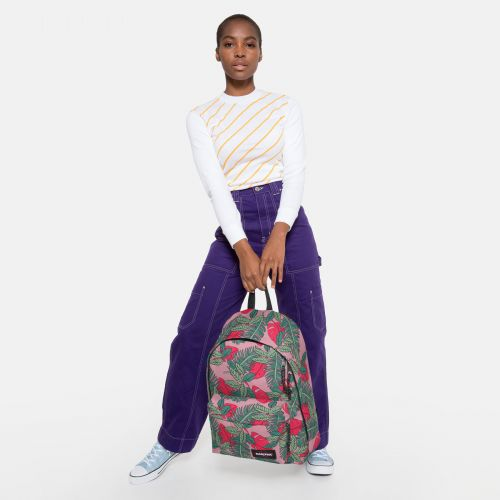 Out Of Office Brize Tropical Backpacks by Eastpak
