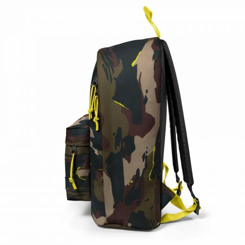 Out Of Office Outline Yellow Backpacks by Eastpak