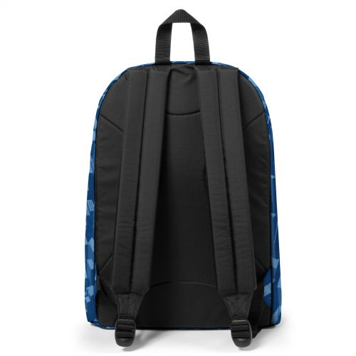 Out Of Office Pixel Blue Backpacks by Eastpak