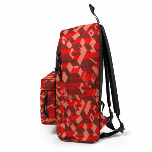 Out Of Office Pixel Red Backpacks by Eastpak