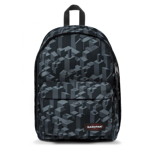 Out Of Office Pixel Black Backpacks by Eastpak