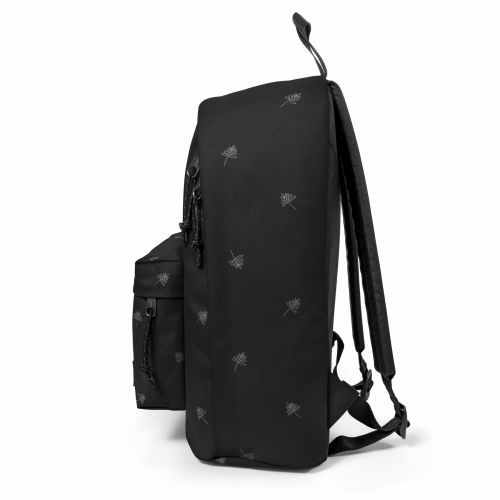 Out Of Office Line Black Backpacks by Eastpak