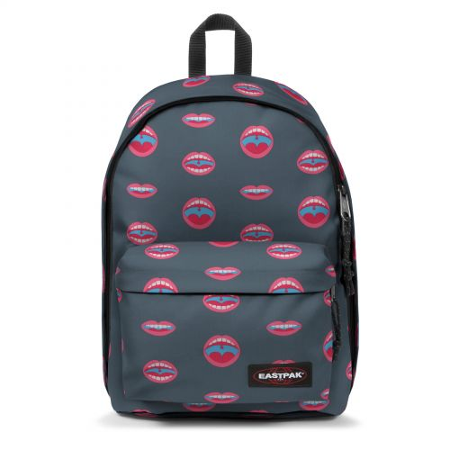 Out Of Office Wall Art Mouth Backpacks by Eastpak