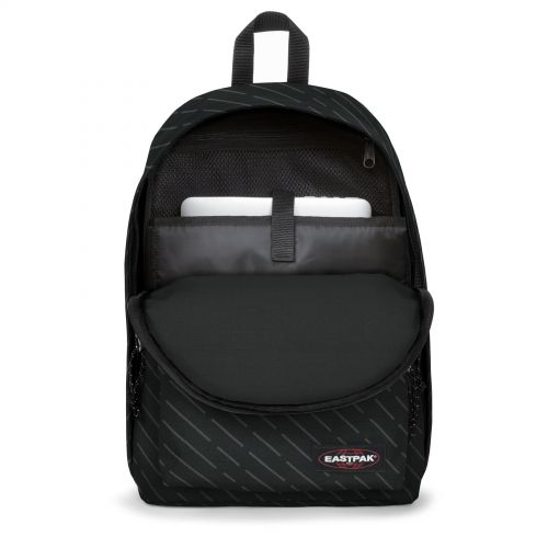 Out Of Office Geo Stripe Backpacks by Eastpak