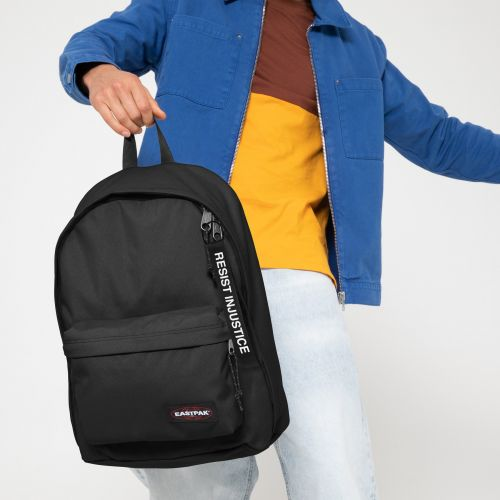 Out Of Office Resist Injustice Backpacks by Eastpak