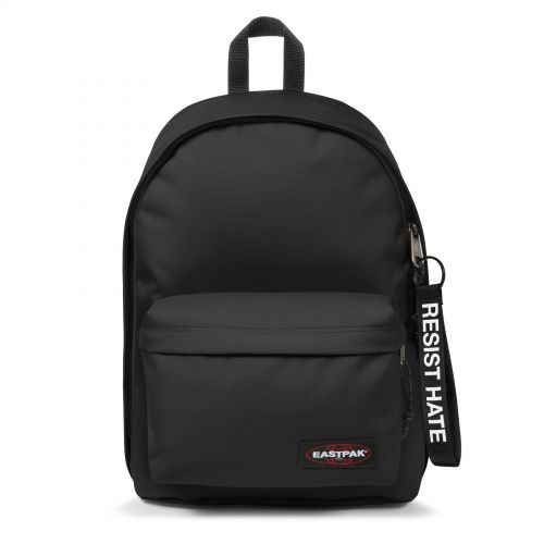 Out Of Office Resist Hate Backpacks by Eastpak