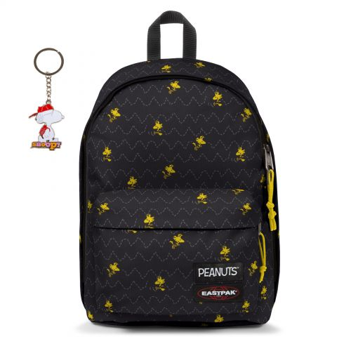 Out Of Office Peanuts Woodstock with keychain Backpacks by Eastpak - view 11