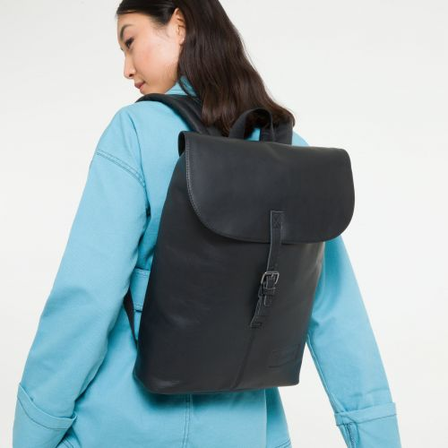 Ciera Black Ink Leather Leather by Eastpak