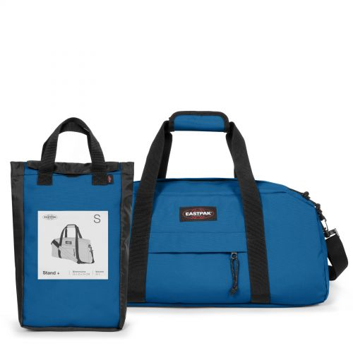 Stand + Mysty Blue Luggage by Eastpak