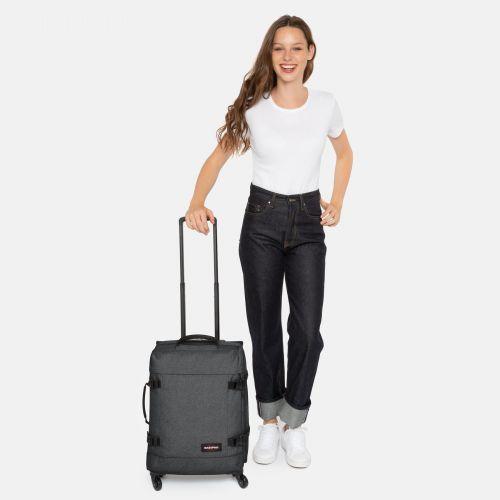 Trans4 S Black Denim Business Travel by Eastpak