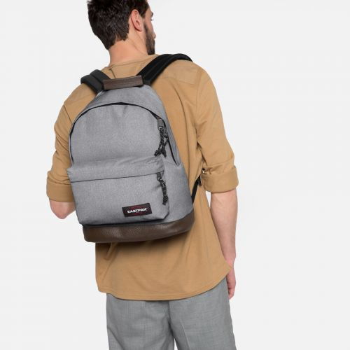 Wyoming Sunday Grey Backpacks by Eastpak - view 2