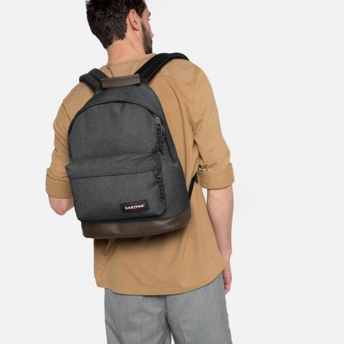 Wyoming Black Denim Backpacks by Eastpak - view 2