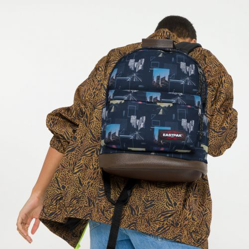 Wyoming Shapes Blue Backpacks by Eastpak - view 0