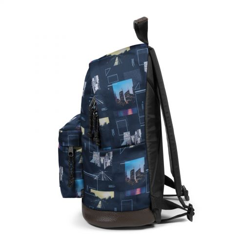 Wyoming Shapes Blue Backpacks by Eastpak