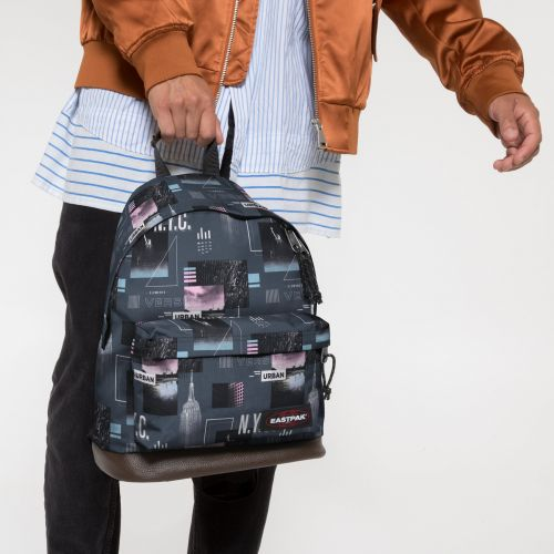 Wyoming Shapes Grey Backpacks by Eastpak - view 0