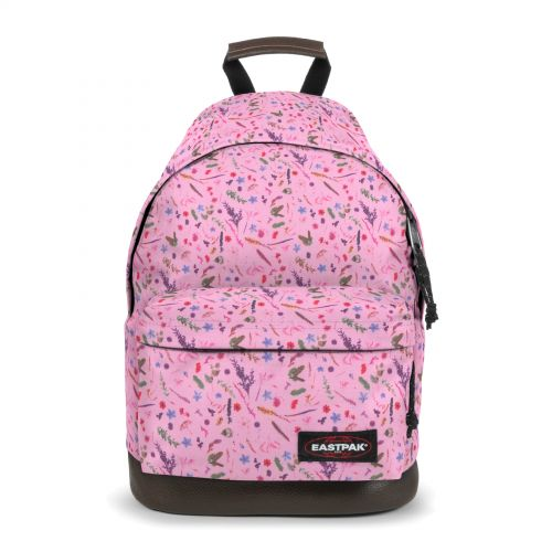 Wyoming Herbs Pink Backpacks by Eastpak