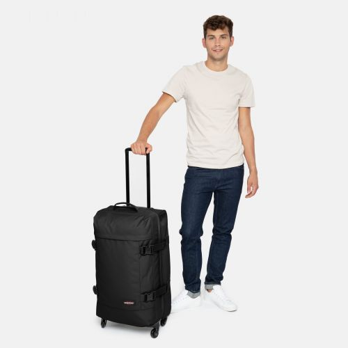 Trans4 M Black Large Suitcases by Eastpak