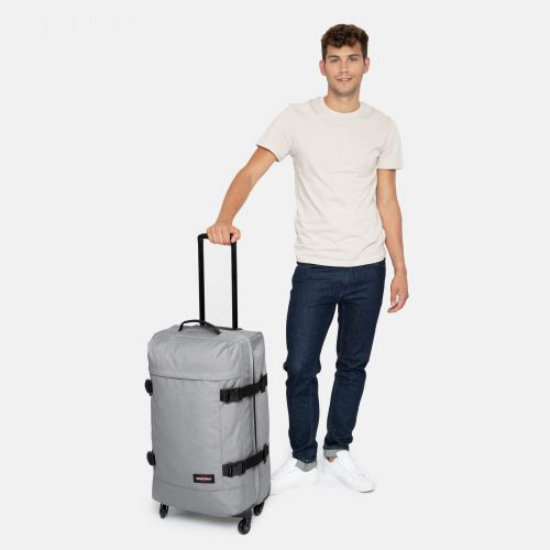Trans4 M Sunday Grey Large Suitcases by Eastpak
