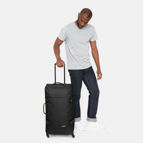 Trans4 L Black Large Suitcases by Eastpak