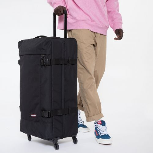 Trans4 XL Black Large Suitcases by Eastpak - view 1