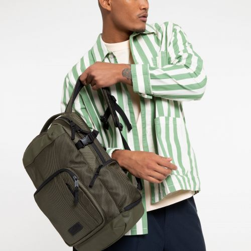 Tecum S Khaki Backpacks by Eastpak - view 0