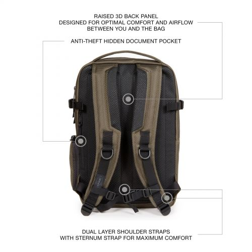 Tecum S Cnnct Sand Backpacks by Eastpak