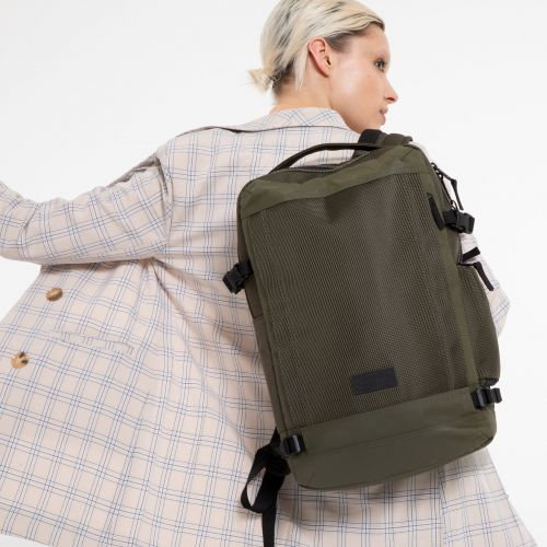 Tecum M Khaki Backpacks by Eastpak - view 0