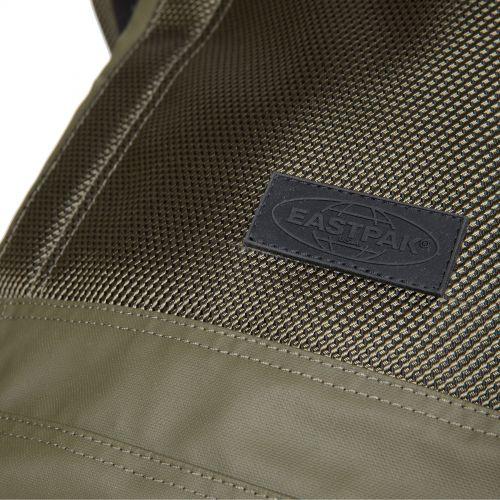 Tecum M Khaki Backpacks by Eastpak