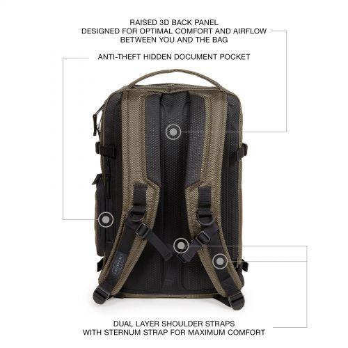 Tecum M Cnnct Sand Backpacks by Eastpak
