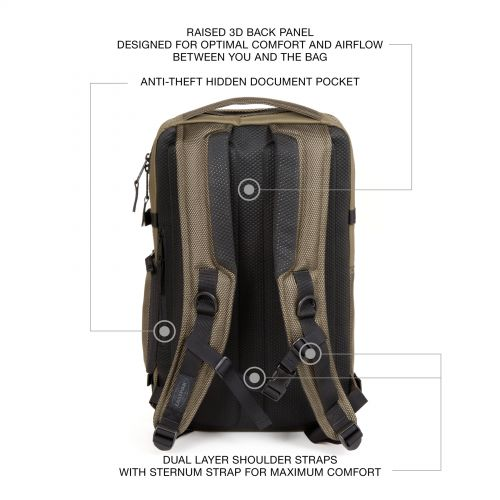 Tecum L Cnnct Sand Backpacks by Eastpak