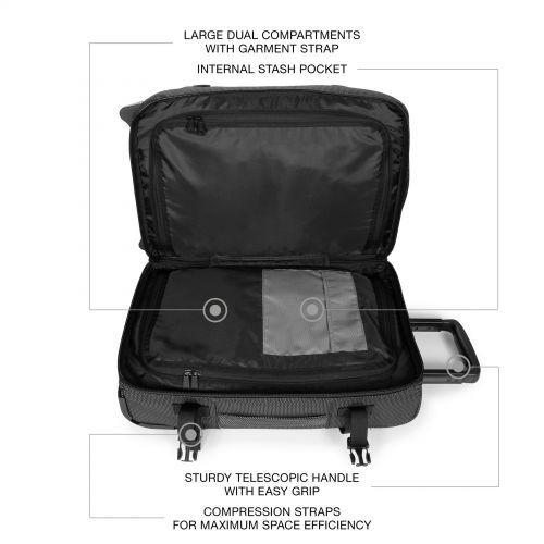 Tranverz Cnnct S Cnnct Melange Luggage by Eastpak