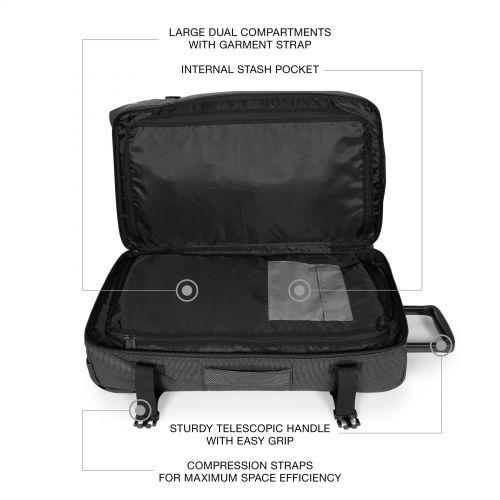 Tranverz Cnnct M Cnnct Melange Luggage by Eastpak