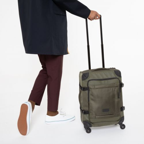 Trans4 CNNCT S Khaki Luggage by Eastpak - view 0