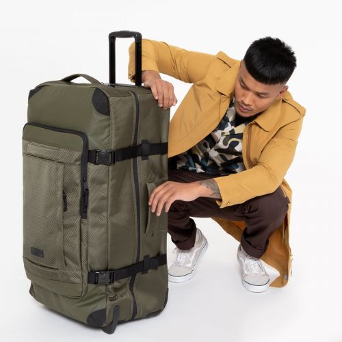 Tranverz CNNCT L Khaki Luggage by Eastpak - view 0