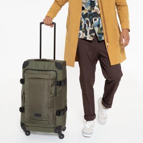 Trans4 CNNCT M Khaki Luggage by Eastpak