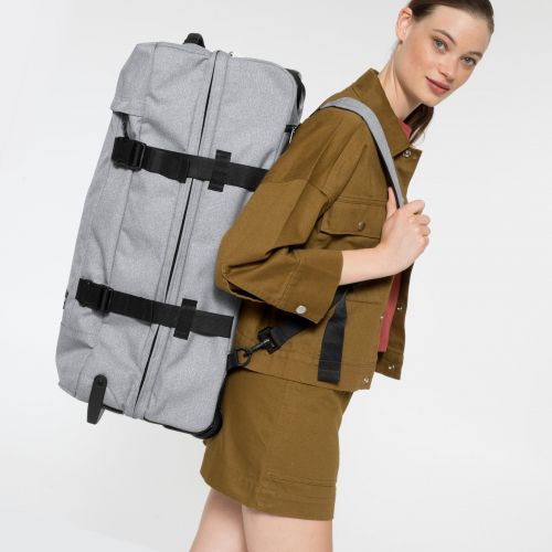 Strapverz M Sunday Grey Luggage by Eastpak - Front view