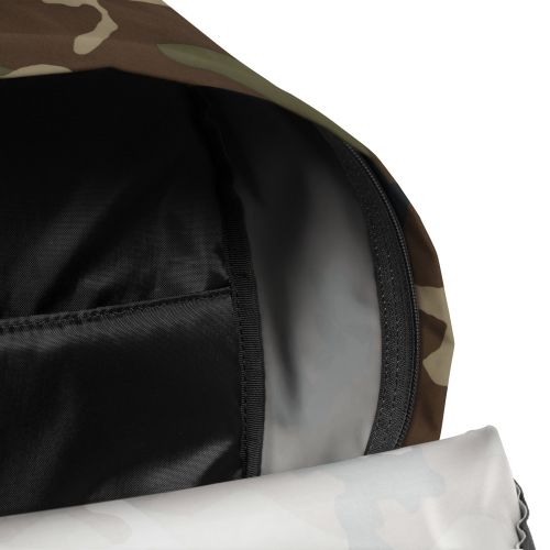 Padded Zippl'r + Camo Backpacks by Eastpak