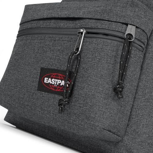 Padded Zippl'r + Black Denim Backpacks by Eastpak