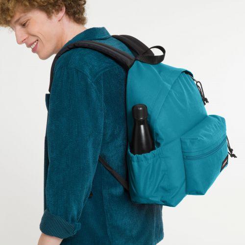 Padded Zippl'r + Oasis Blue Backpacks by Eastpak