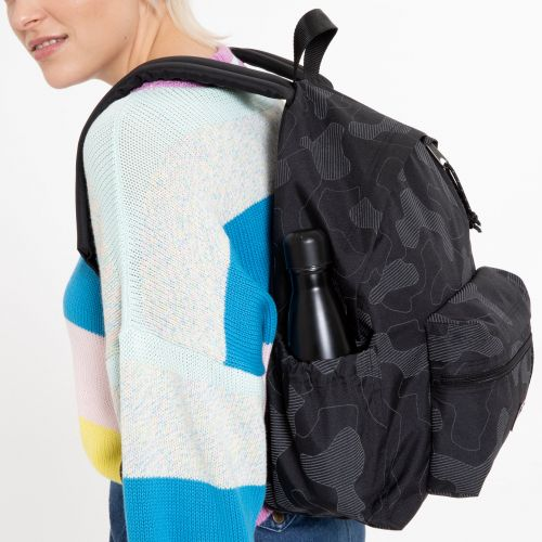 Padded Zippl'r + Reflective Camo Black Backpacks by Eastpak - view 0